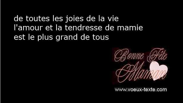 proverbes courts fête maman