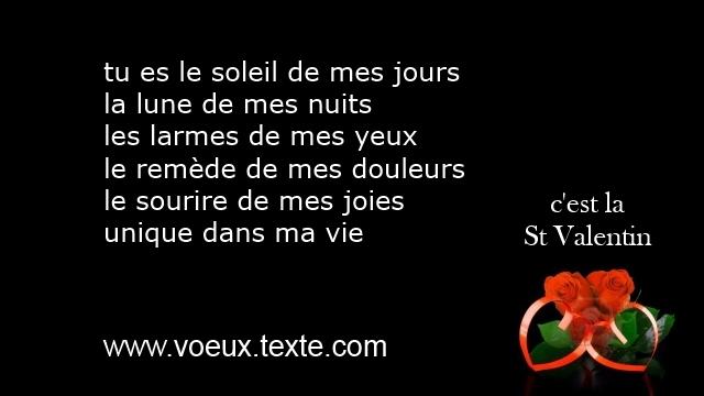 Saint Valentin Petits Poemes Texte Courts Voeux St Valentin